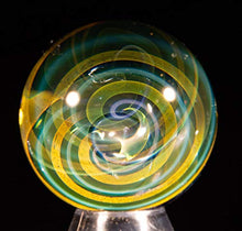 Load image into Gallery viewer, Aaron Slater Glass Art Fume Twist Marble (Small)