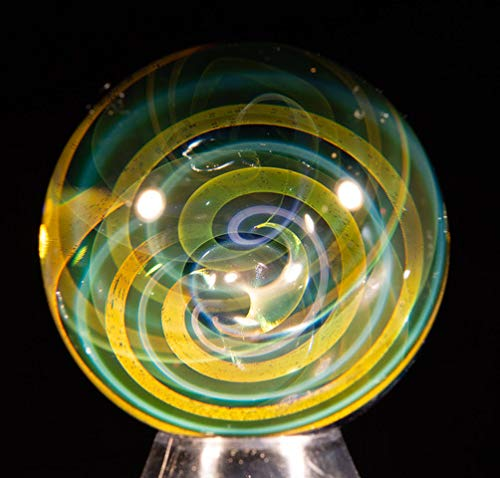 Aaron Slater Glass Art Fume Twist Marble (Small)