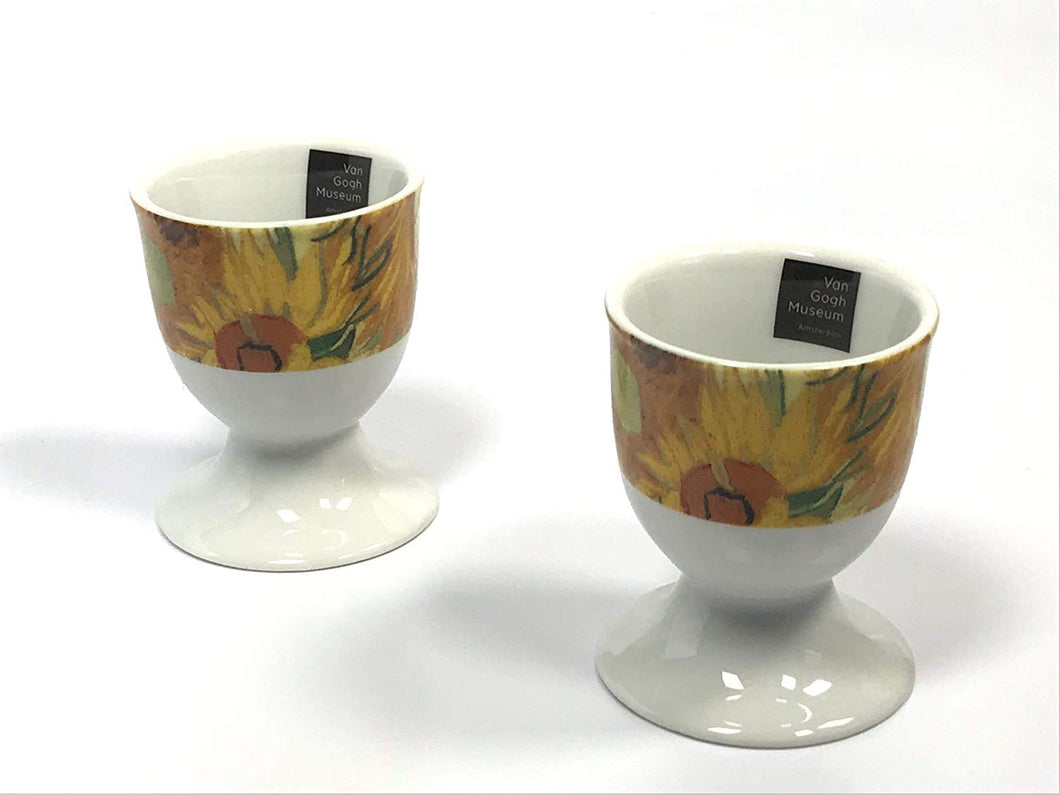 Van Gogh Egg cups Sunflowers