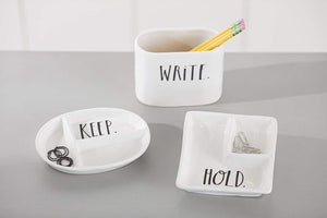 "Rae Dunn""Write"" Pencil Holder"