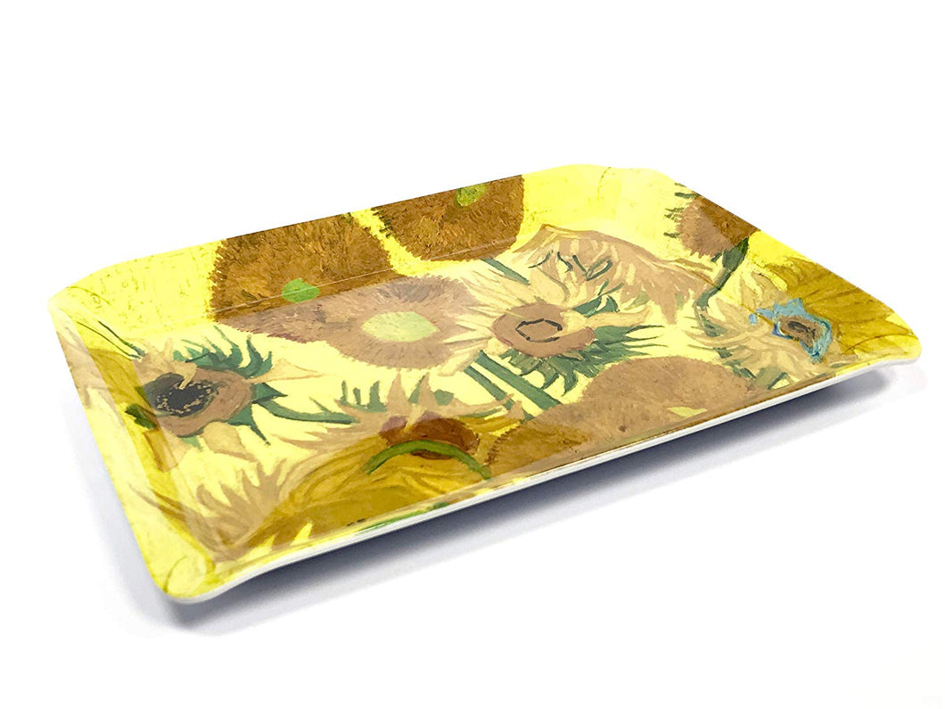 Gdabs Van Gogh Serving tray Sunflowers