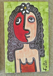Jose Fuster Authentic Cuban Tile Painting