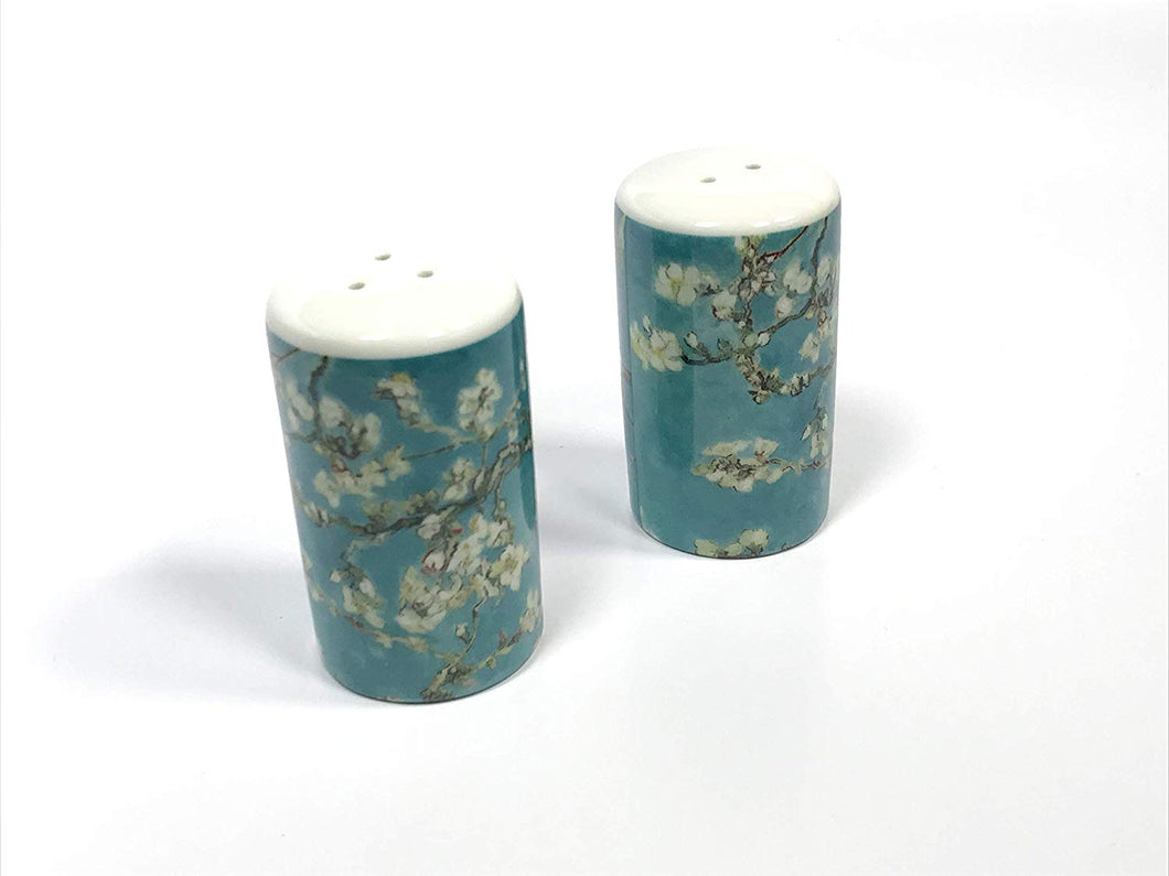 Van Gogh Salt & Pepper Almond Blossom Porcelain Shaker Set