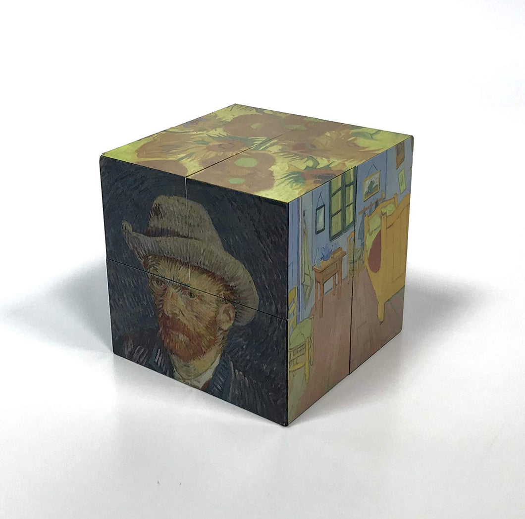 Gdabs Van Gogh Magic Cube Paintings