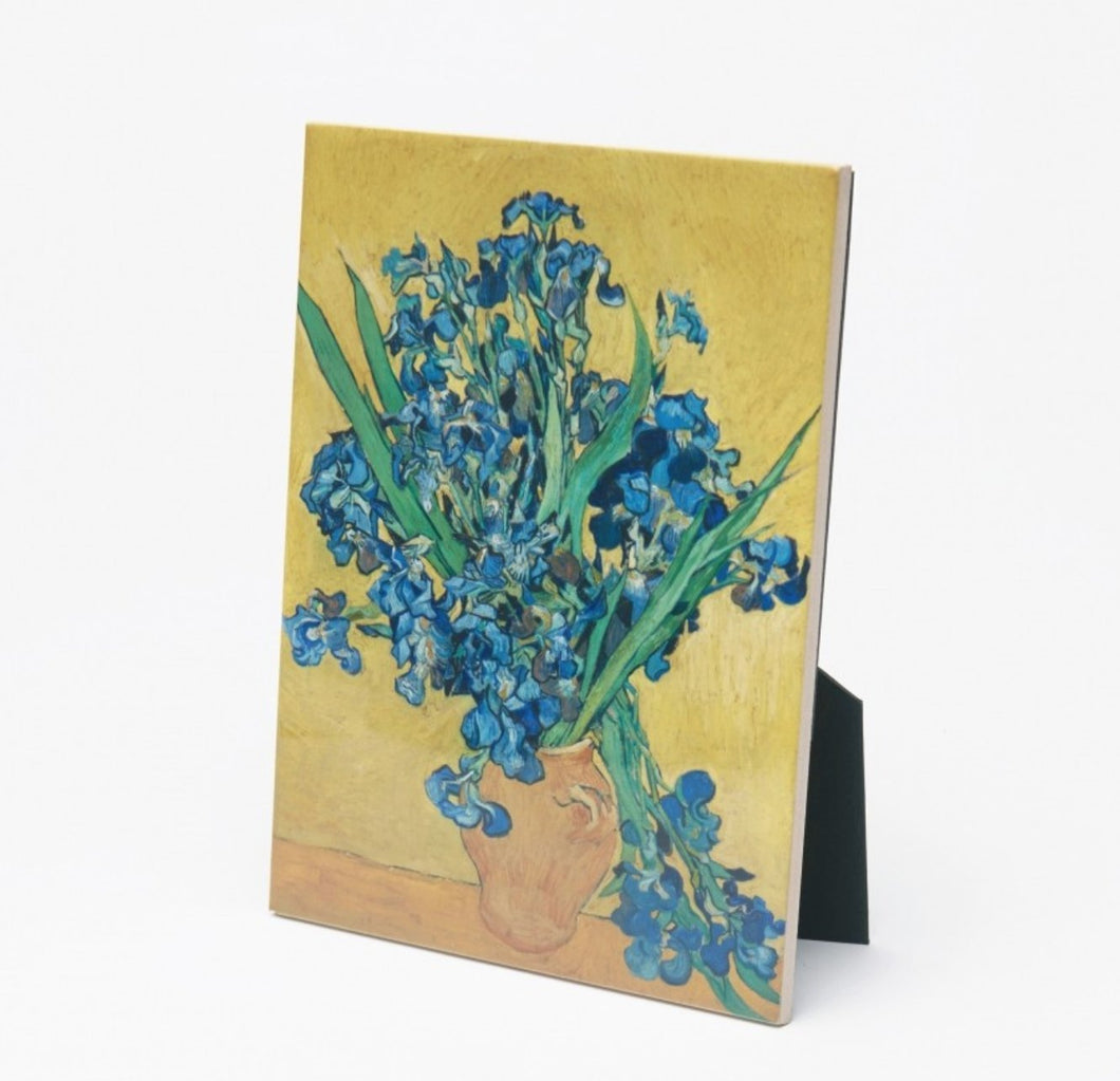 Gdabs Van Gogh Tile Irises