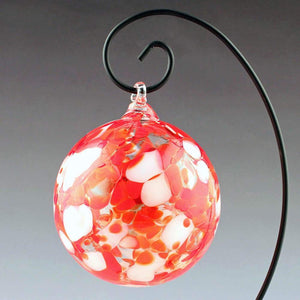Boise Art Glass Hand Crafted Candy Cane Ornament