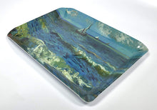 Load image into Gallery viewer, Gdabs Van Gogh Serving tray Seascape