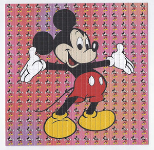 Gdabs Psychedelic Blotter Art Print perforated sheet/paper 30x30 - Mickey Mouse 1 Design