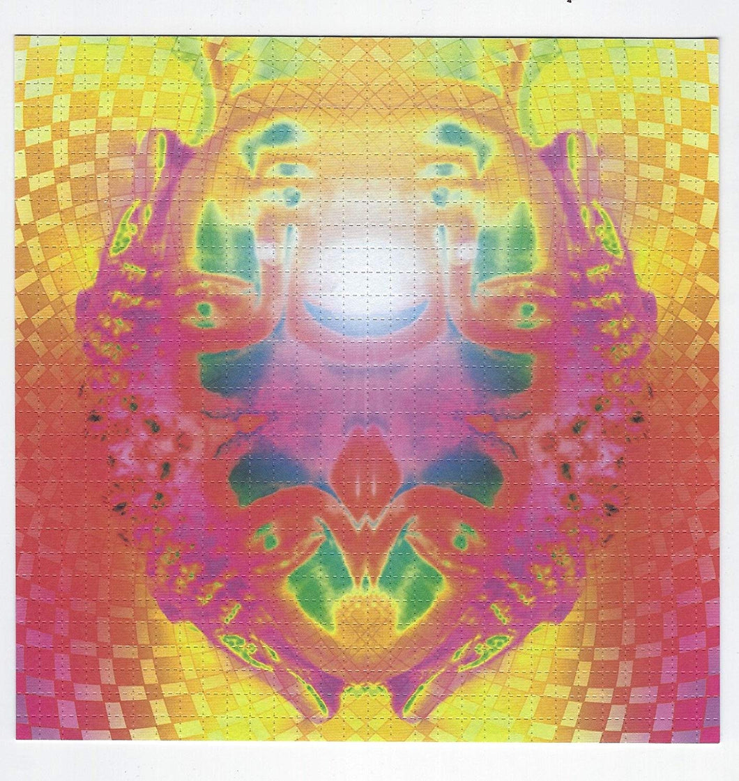 Gdabs Psychedelic Blotter Art Print perforated sheet/paper 30x30 - Colorful Design
