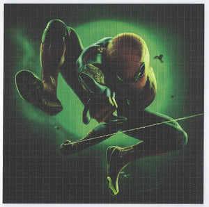 Gdabs Psychedelic Blotter Art Print perforated sheet/paper 30x30 - Spiderman 3 Design
