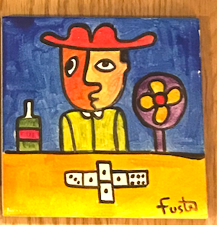 Jose Fuster Authentic Cuban Tile Painting 22