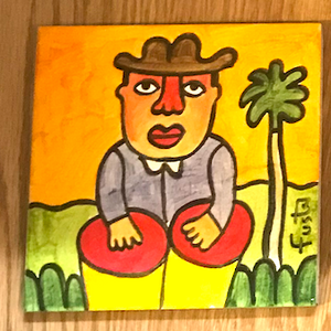 Jose Fuster Authentic Cuban Tile Painting 20