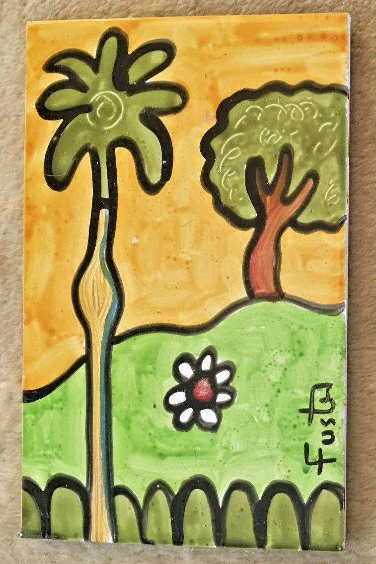 Jose Fuster Authentic Cuban Tile Painting 13