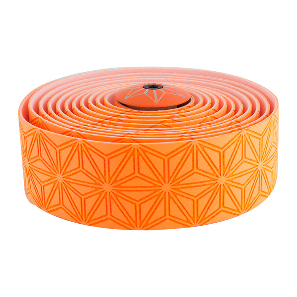SUPACAZ Super Sticky Kush Single Color Bar Tape Neon Orange