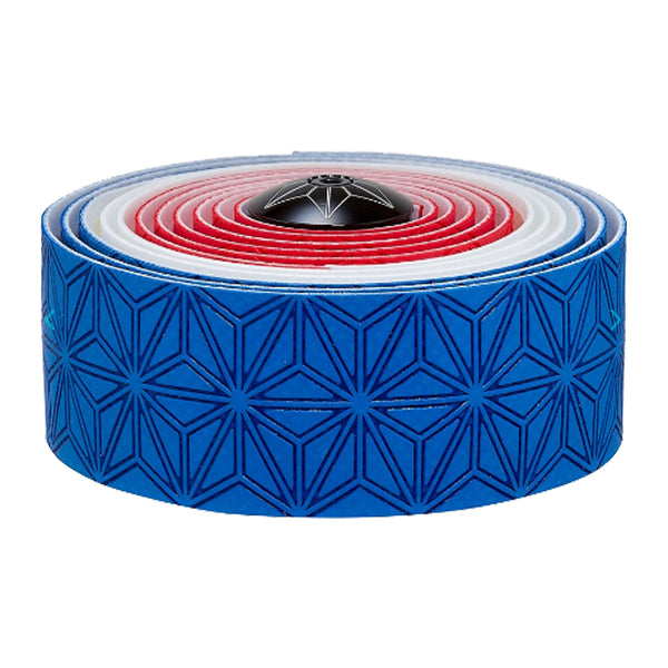 SUPACAZ Super Sticky Kush Country Bar Tape Blue/White/Red