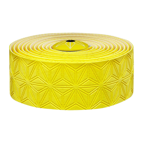 SUPACAZ Super Sticky Kush Single Color Bar Tape Yellow