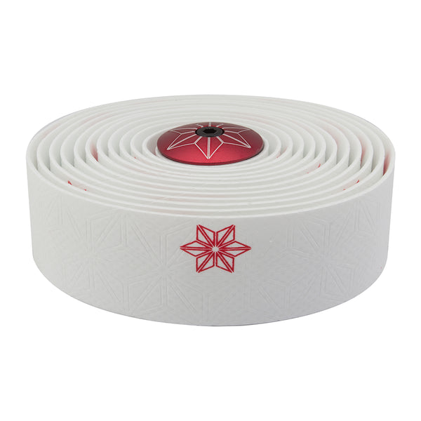 SUPACAZ Super Sticky Kush Galaxy Bar Tape White/Red