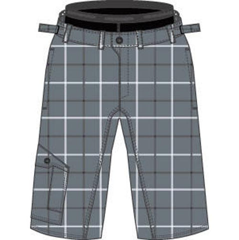 Cannondale 13 Rush Baggy Short Plaid Extra Large - 3M255X/PLD