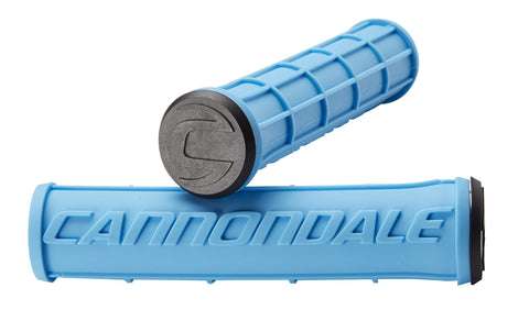 Cannondale Waffle Silicone Grips Blue CU4192OS04