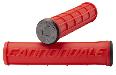 Cannondale Waffle Silicone Grips Red CU4192OS06