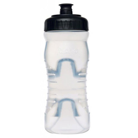 Fabric Cageless Water Bottle Clear/Black 22 oz FP4016U0122