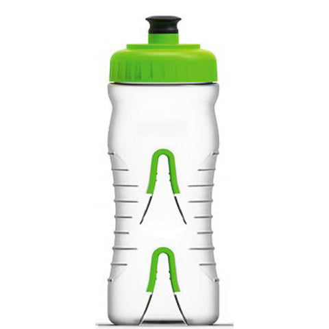 Fabric Cageless Water Bottle Clear/Green 22 oz FP4016U0322