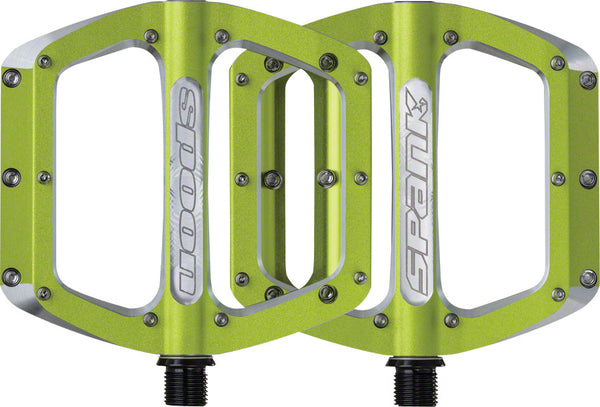 Spank Spoon Large (110mm) Pedals Green