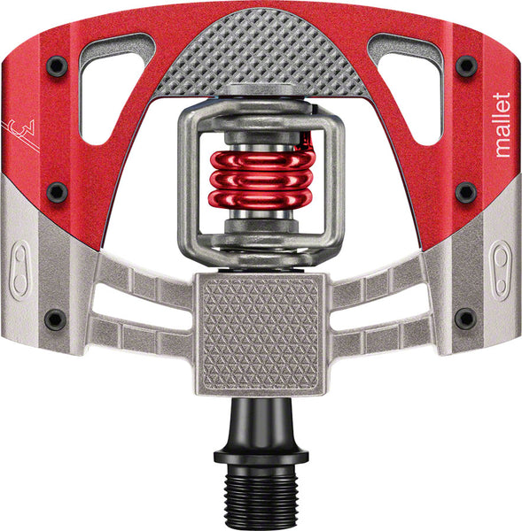 Crank Brothers Mallet 3 pedals, red/raw