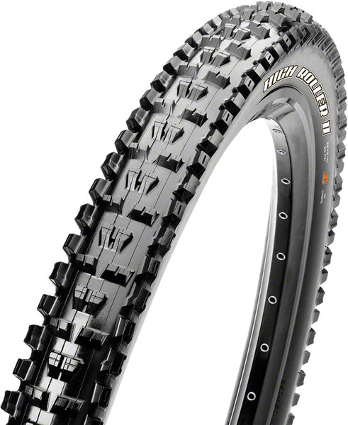 Maxxis High Roller II Tire: 26 x 2.40 Folding 60tpi 3C EXO Black