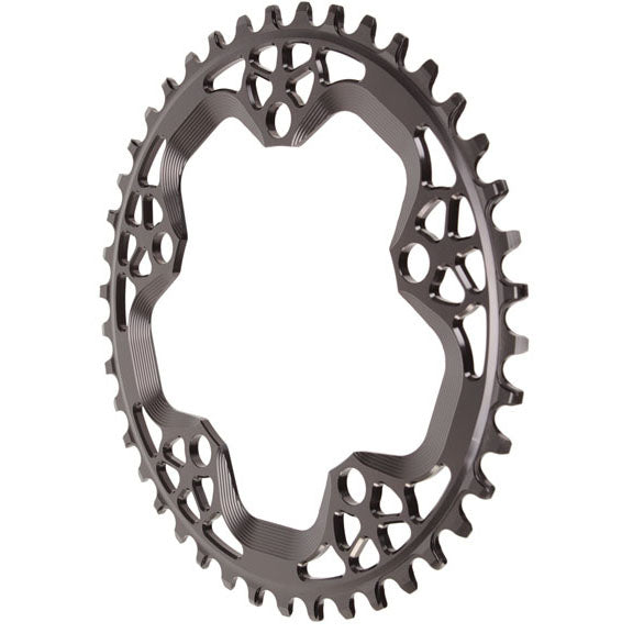 Absolute Black Cyclocross chainring, 110BCD 42T - black