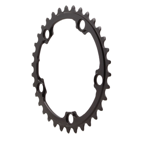Absolute Black Round chainring, 5x110BCD 34T - black