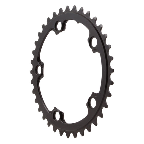 Absolute Black Round chainring, 5x110BCD 36T - black