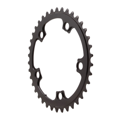 Absolute Black Round chainring, 5x110BCD 38T - black