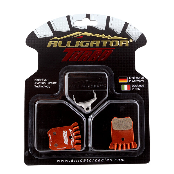 Alligator Turbo disc pads, Fits Ultegra RS505, RS805