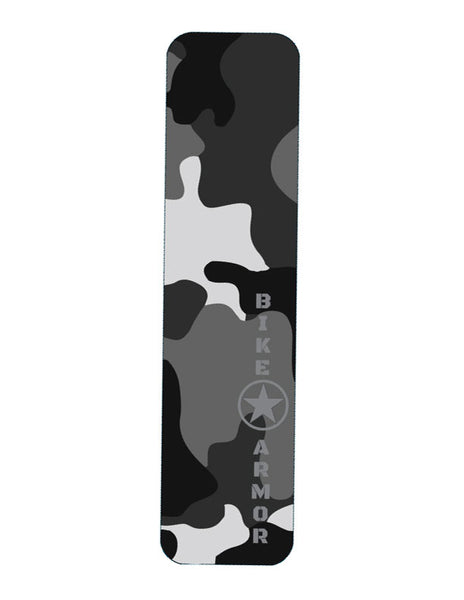 Bike Armor Tough Dome D-tube Frame Protector, Single - Grey Camo