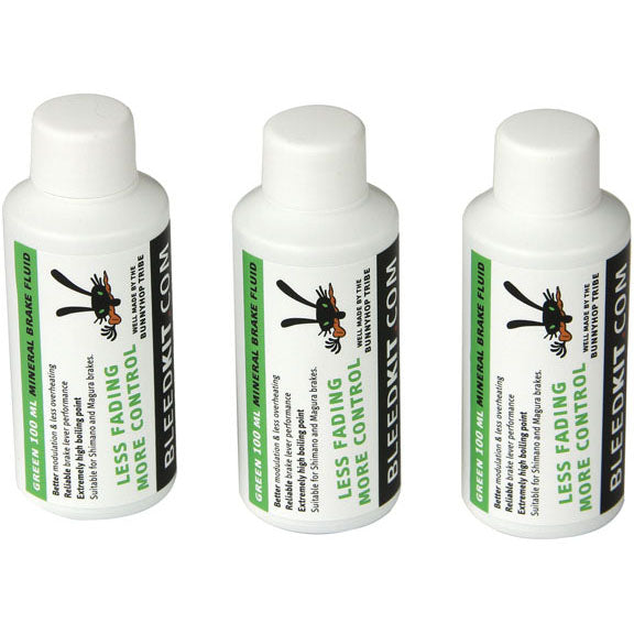 BunnyHop Tribe Mineral Oil Brake Fluid (Shimano) Green - 100ml
