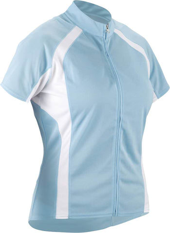 Cannondale 13 Women's Classic Jersey Light Blue Large - 3F120L/LTB