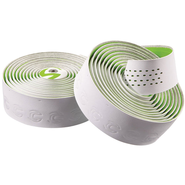 Cannondale 2014 Microfiber Plus Premium Handlebar Tape White-Green