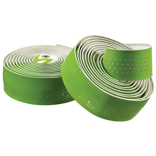 Cannondale 2014 Microfiber Plus Premium Handlebar Tape Green-White