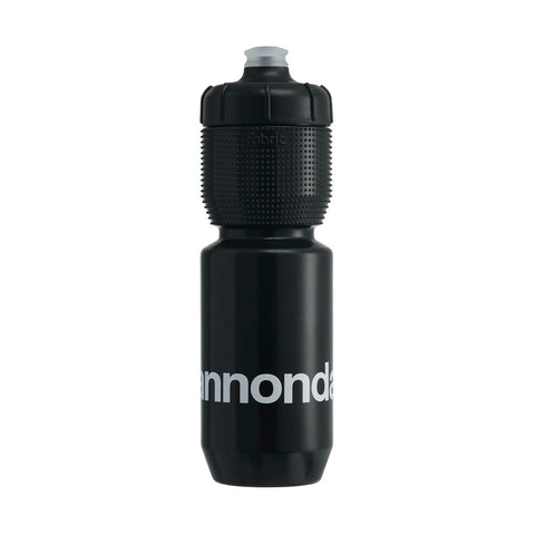 Cannondale Logo Gripper Bottle Black + White 750ml CP5100U1175