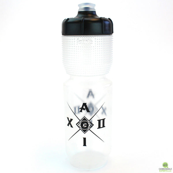 Cannondale Aluminati Cycling Water Bottle Clear/Black 750ml CP5108U0175