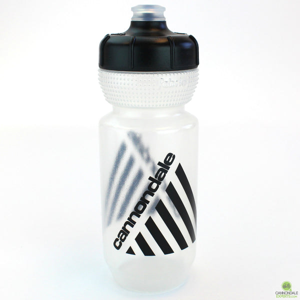 Cannondale Retro Vintage Cycling Water Bottle Clear/Black 600ml CP5408U0160