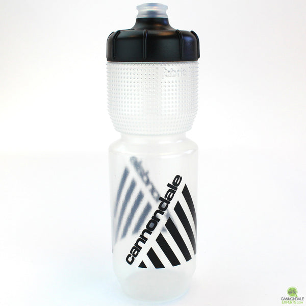 Cannondale Retro Vintage Cycling Water Bottle Clear/Black 750ml CP5408U0175