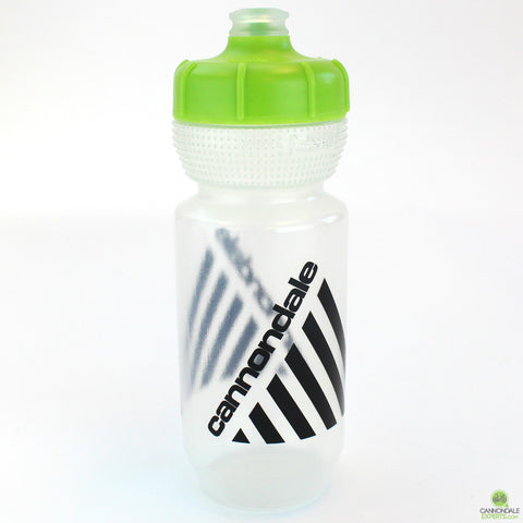 Cannondale Retro Vintage Cycling Water Bottle Clear/Green 600ml CP5408U0360