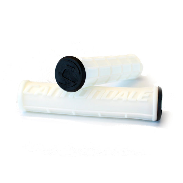 Cannondale Waffle Silicone Grips White CU4192OS02