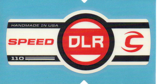 Cannondale Speed DLR 110 Band Decal/Sticker Black, white, red