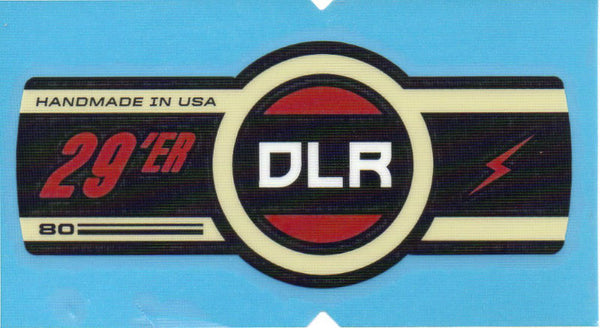 Cannondale Lefty DLR 80 29 Band Decal/Sticker Black, white, red, Cream