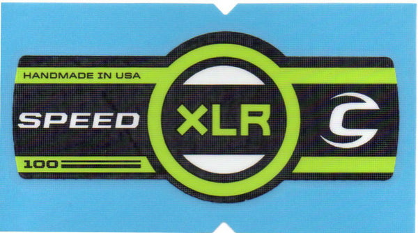 Cannondale Lefty Speed XLR 100 Band Decal/Sticker Black, green, white