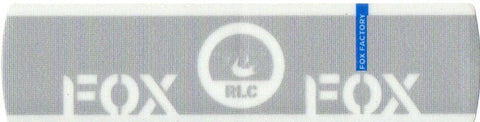 Cannondale Fox RLC Lefty Band Decal/Sticker