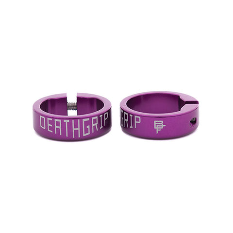 DMR Brendog DeathGrip Clamps, Purple
